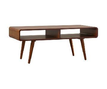 Mercury Row McCurley Mid-Century Modern Coffee Table