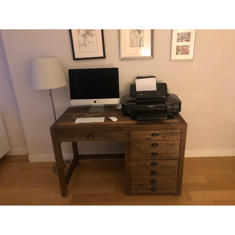 Restoration Hardware Print Maker's Desk - image-2
