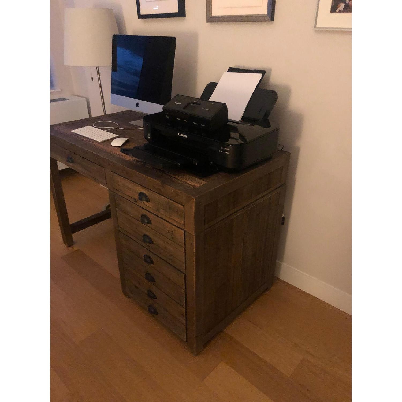 Restoration Hardware Print Maker's Desk - image-3