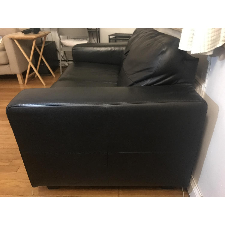 Stupendous Ikea Skogaby Leather Loveseat Aptdeco Inzonedesignstudio Interior Chair Design Inzonedesignstudiocom