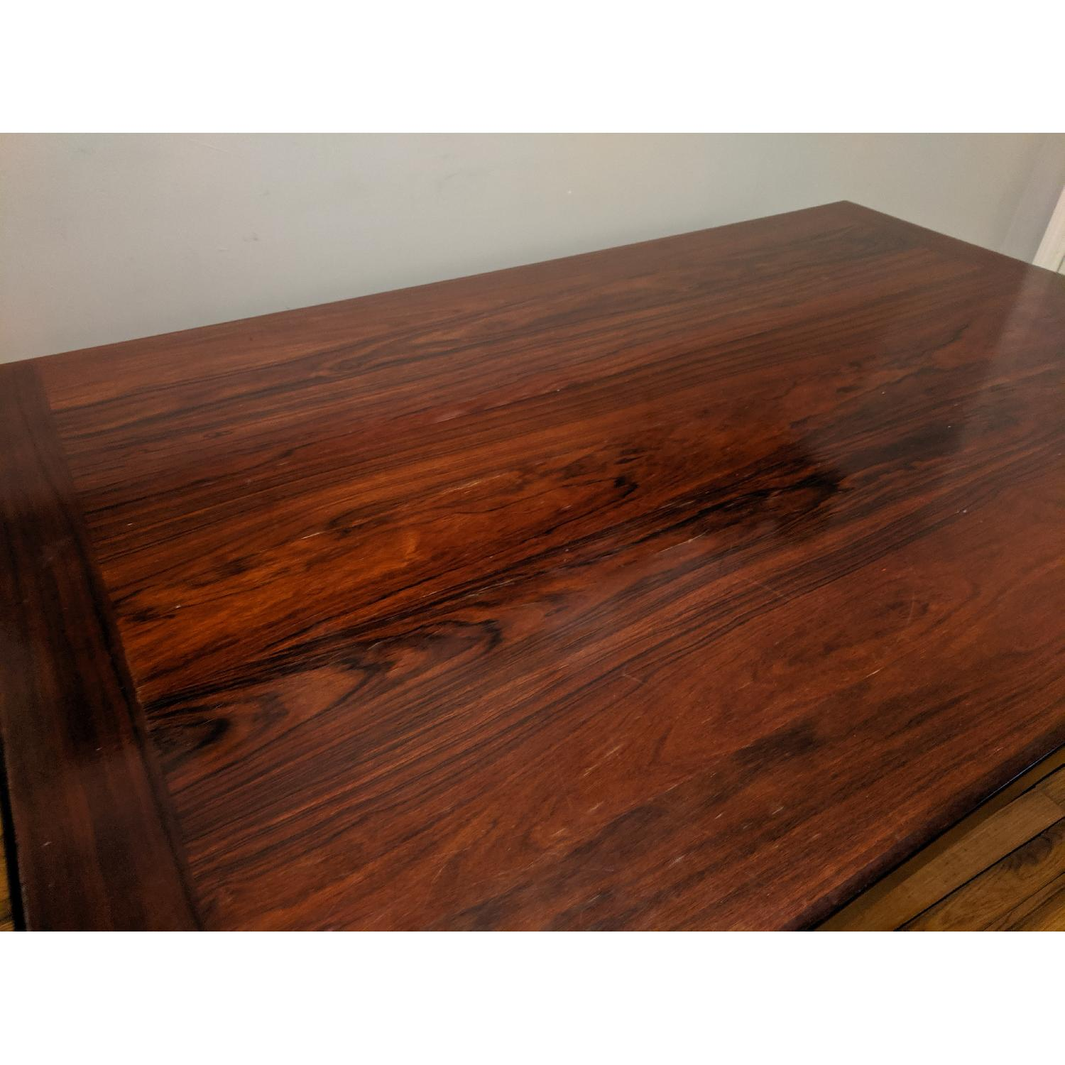 Danish Mid-Century Rosewood Extension Dining Table - image-6