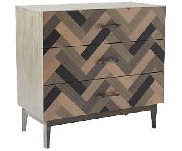 West Elm Parquetry 3 Drawer Dresser