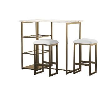 Mercury Row Denham 3 Piece Pub Table Set