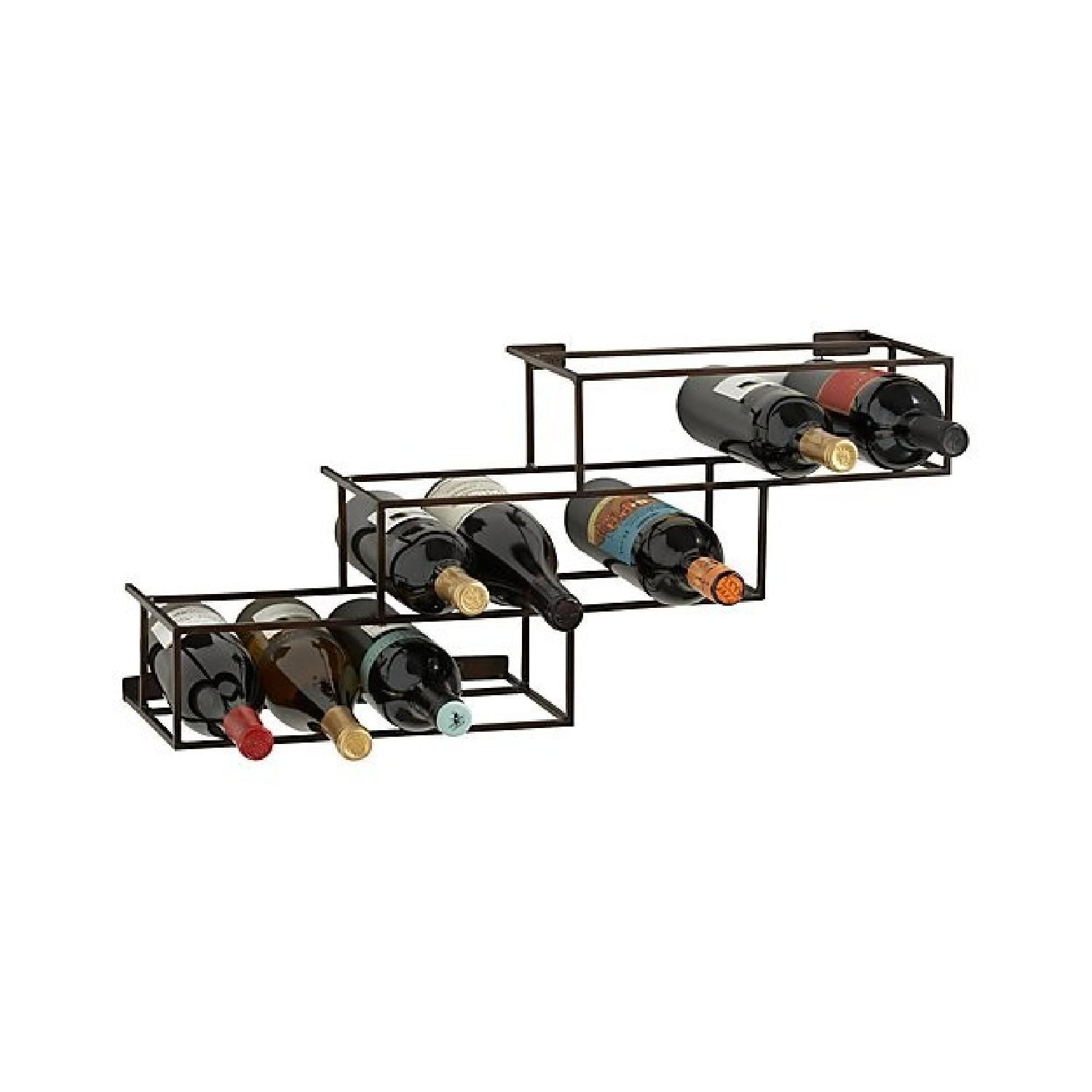 Crate & Barrel Matrix 12 Bottle Wine Racks