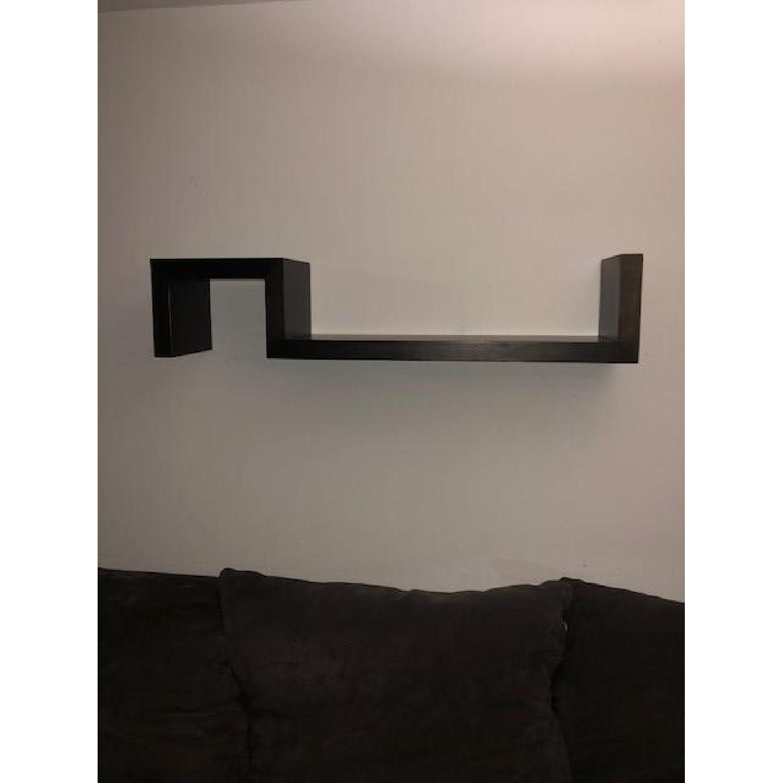 West Elm S Shaped Floating Wall Shelf - image-1