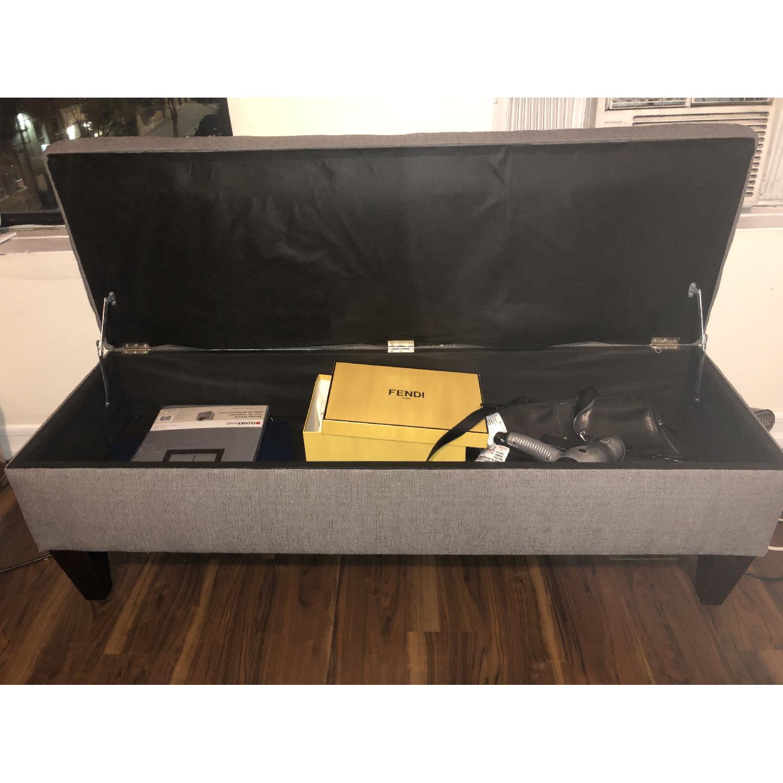 MJL Furniture Designs Brook Collection Storage Bench - image-2
