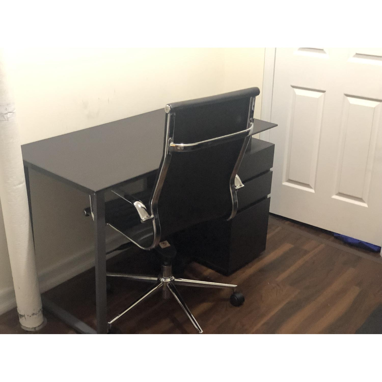 Flash Furniture High Back Leather Office Chair - image-2
