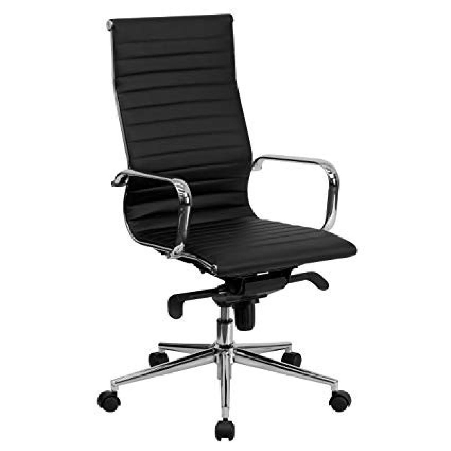 Flash Furniture High Back Leather Office Chair - image-0
