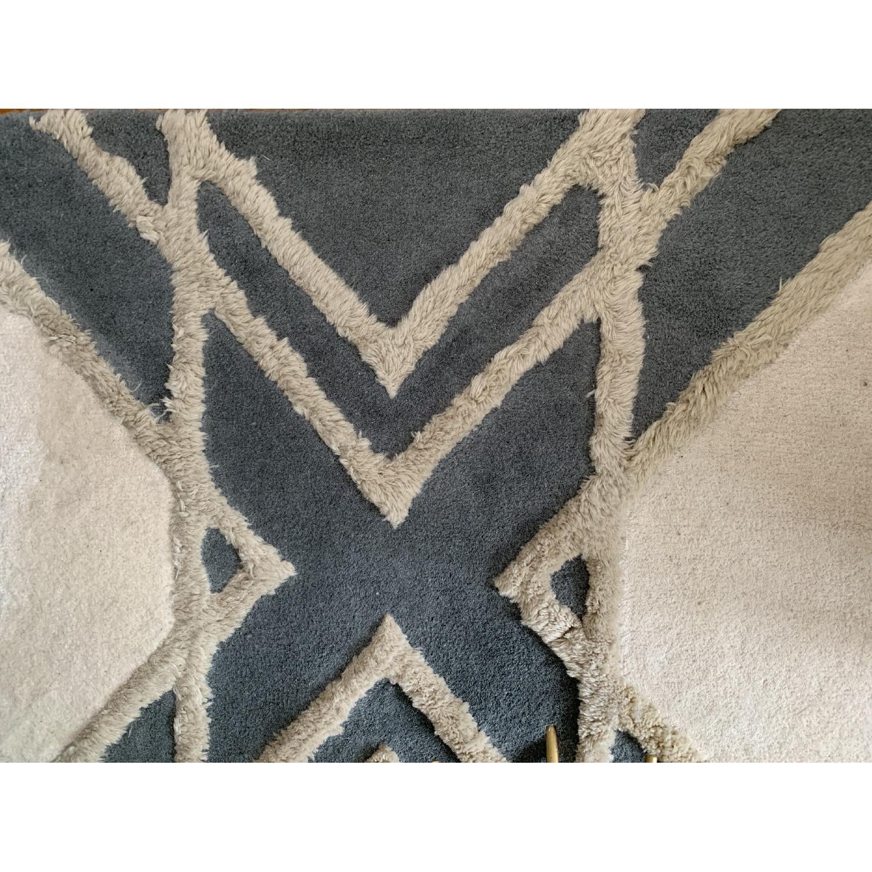 West Elm Deco Diamond Wool Rug - image-1