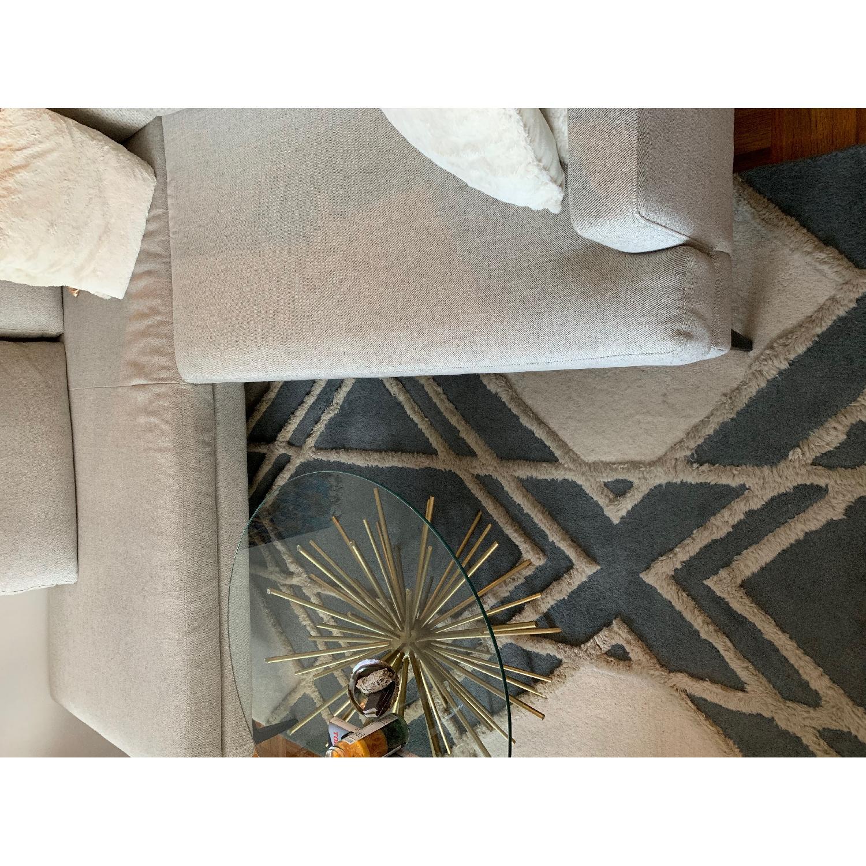West Elm Deco Diamond Wool Rug - image-2