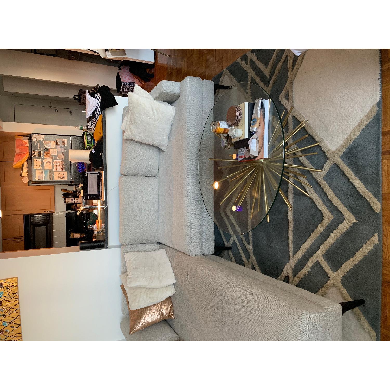 West Elm Deco Diamond Wool Rug - image-3
