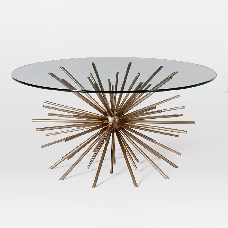 West Elm Starburst Coffee Table - image-5