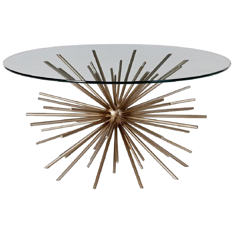 West Elm Starburst Coffee Table - image-0