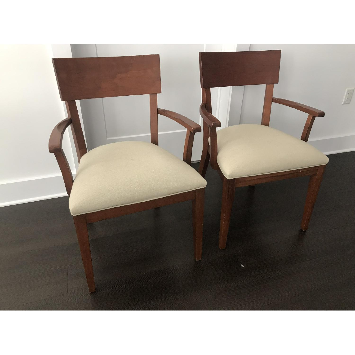 Ethan Allen Dining Armchairs - image-1