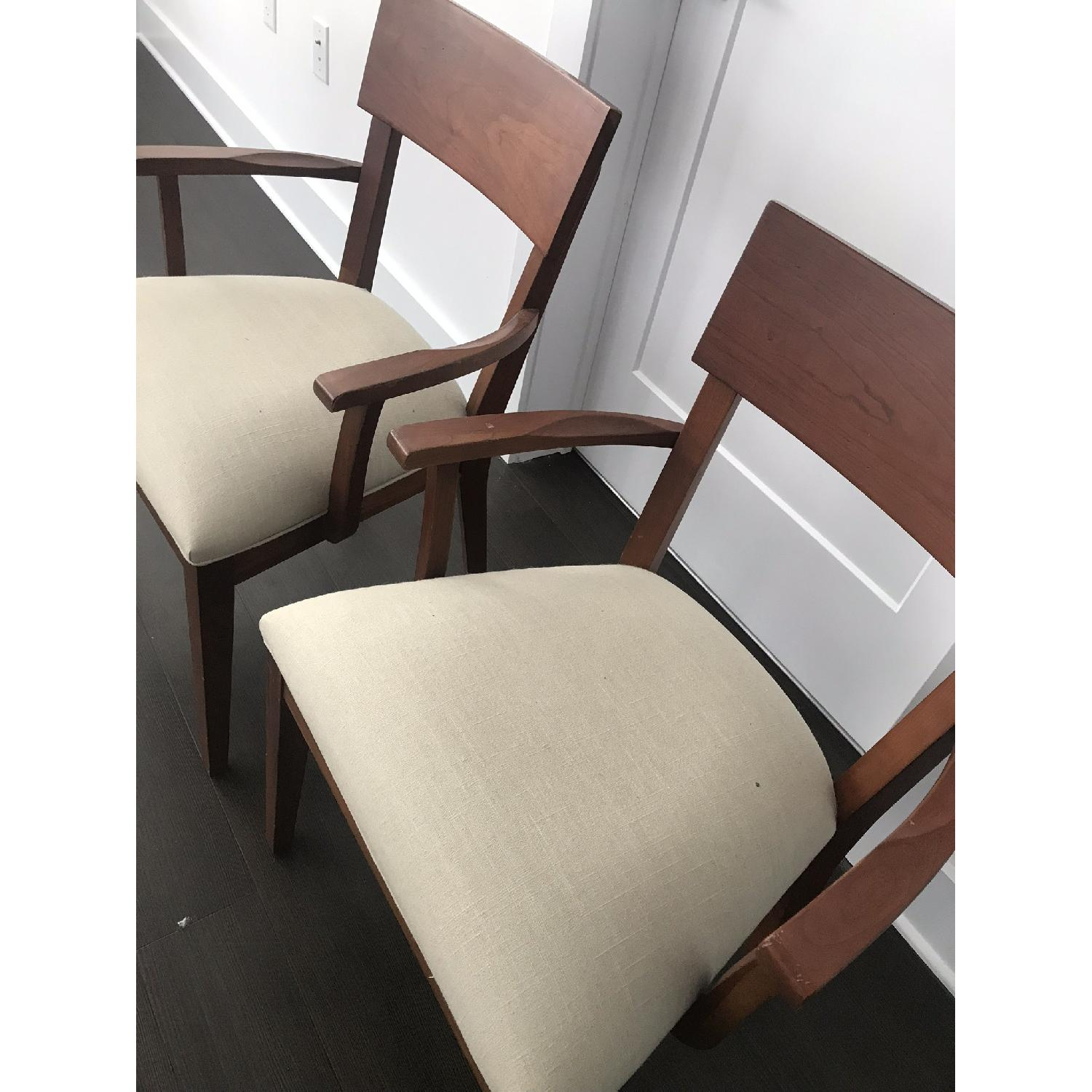 Ethan Allen Dining Armchairs - image-3