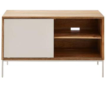 West Elm Silas Wood + Media Console