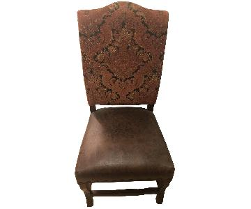 Pier 1 Leather Chair