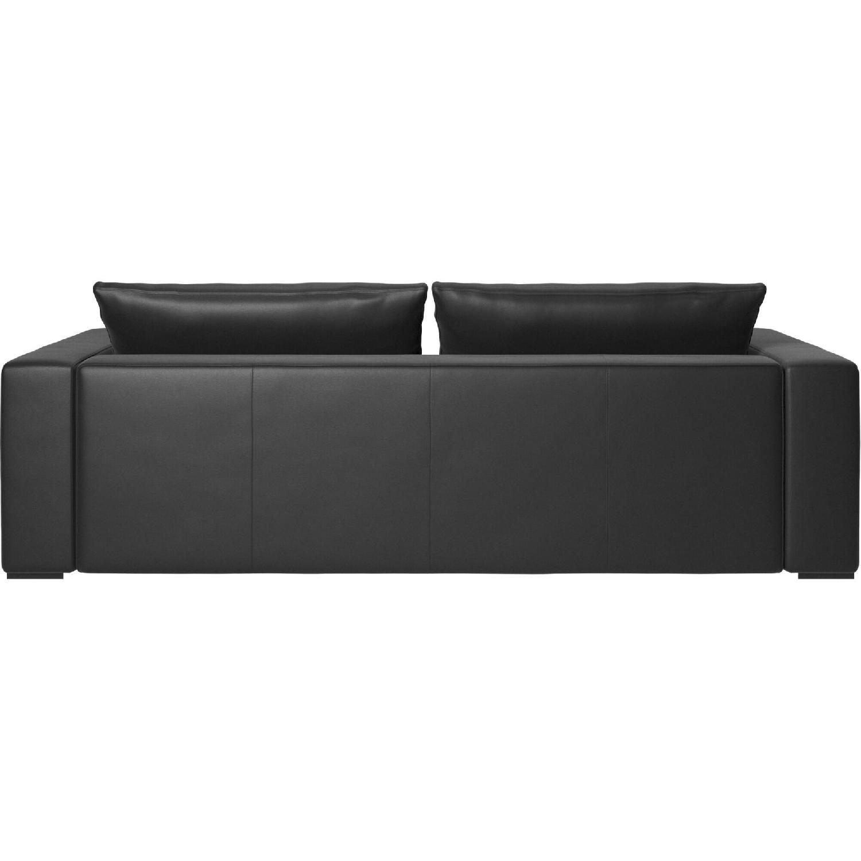 BoConcept Mezzo Black Leather Sofa - image-4