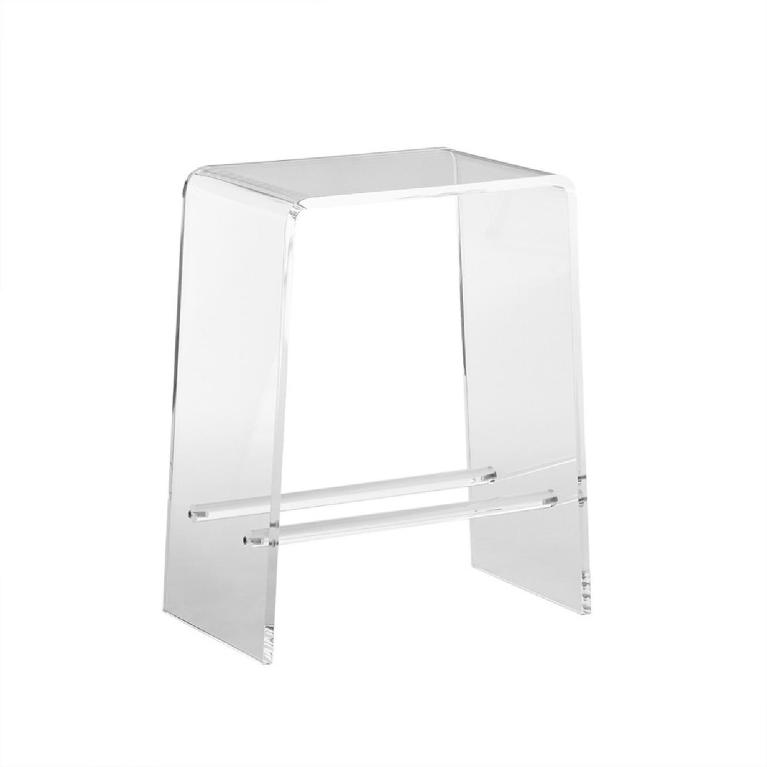 Clear Acrylic Counter Stools - image-1