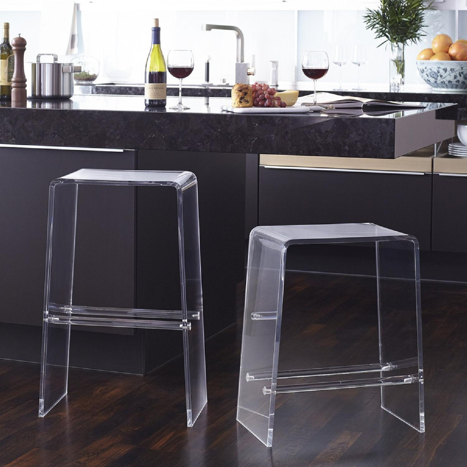 Clear Acrylic Counter Stools - image-2
