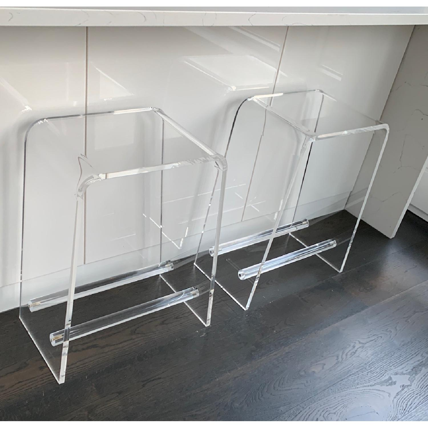 Clear Acrylic Counter Stools - image-0
