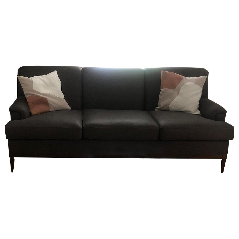Grey Transitional 3 Seater Sofa - image-0