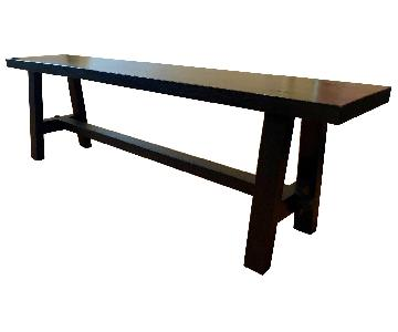 David Smith Solid Teak Bench