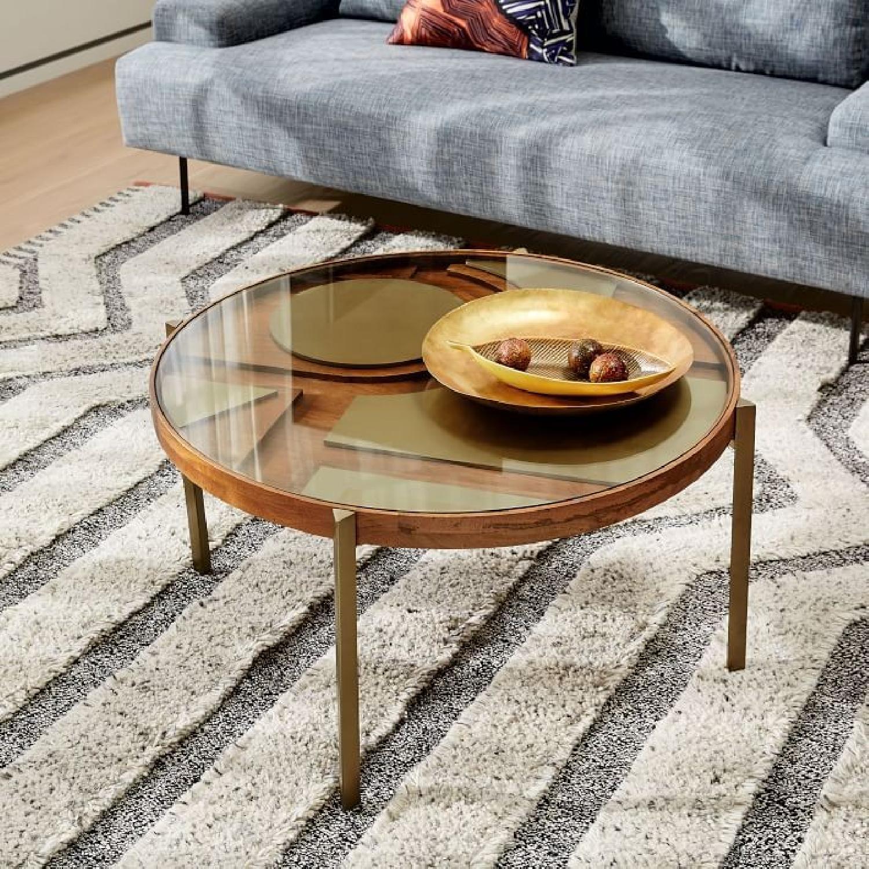 West Elm Roar + Rabbit Layered Coffee Table - image-1