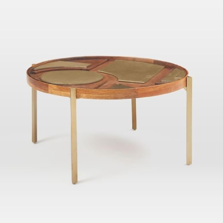 West Elm Roar + Rabbit Layered Coffee Table - image-0