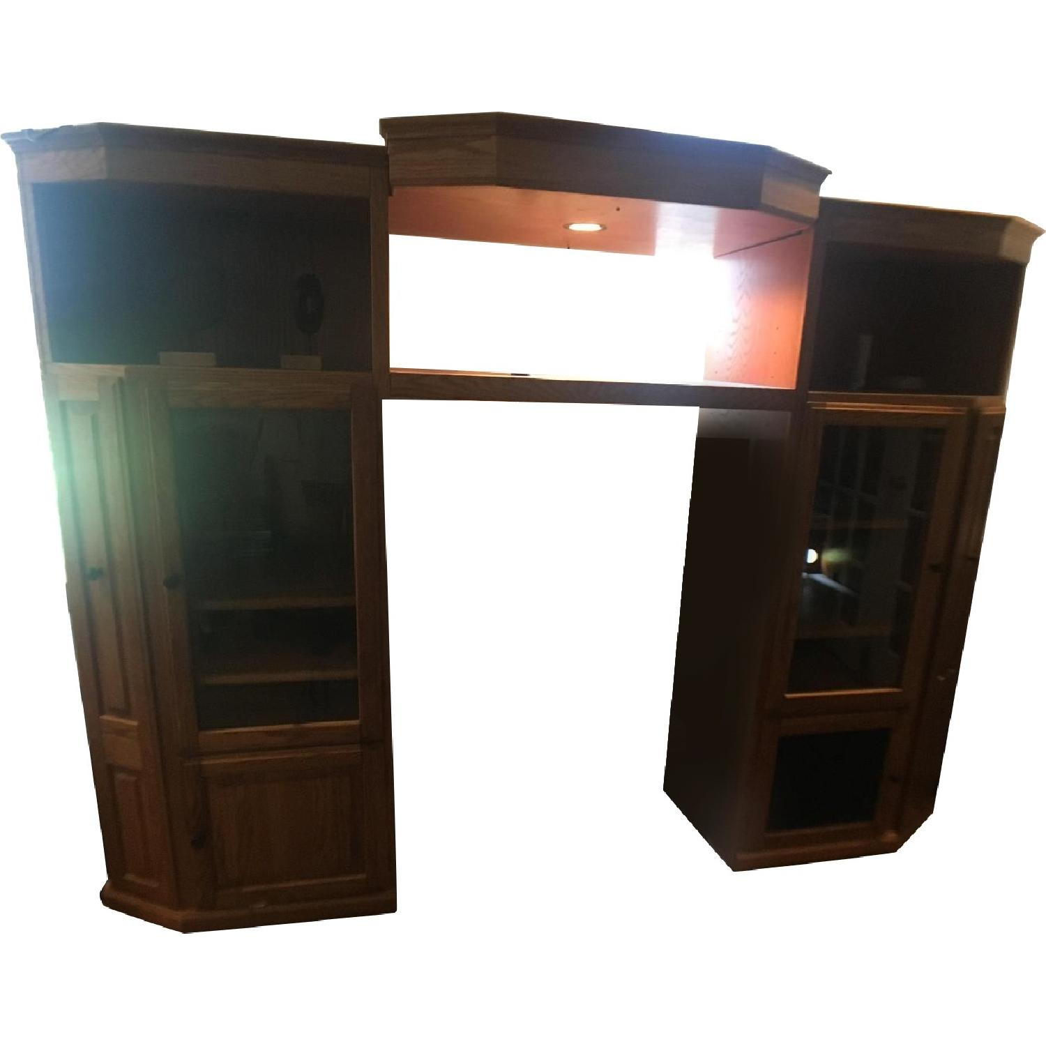 Classic Design Home Theater/Storage Armoire - image-0