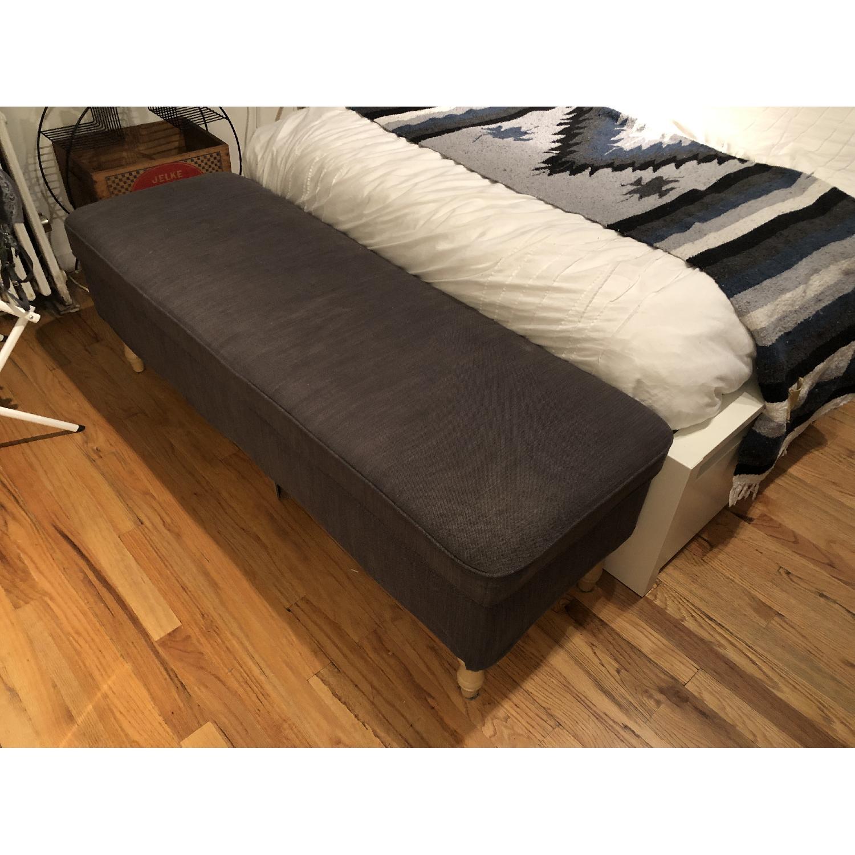 Ikea Grey Stocksund Bench - image-2
