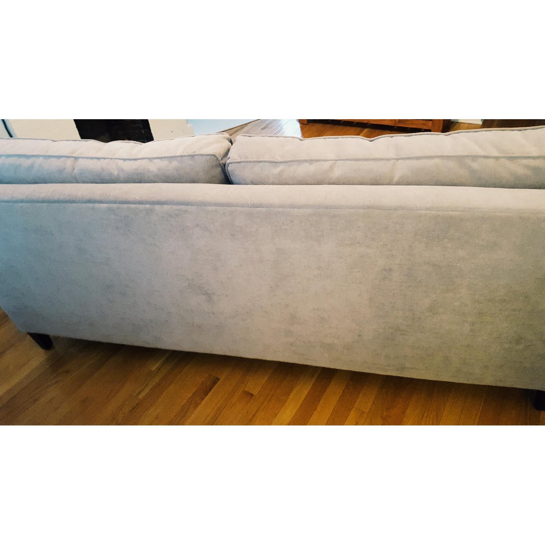 Paladin Dove Grey Down Nailhead Sofa - image-4