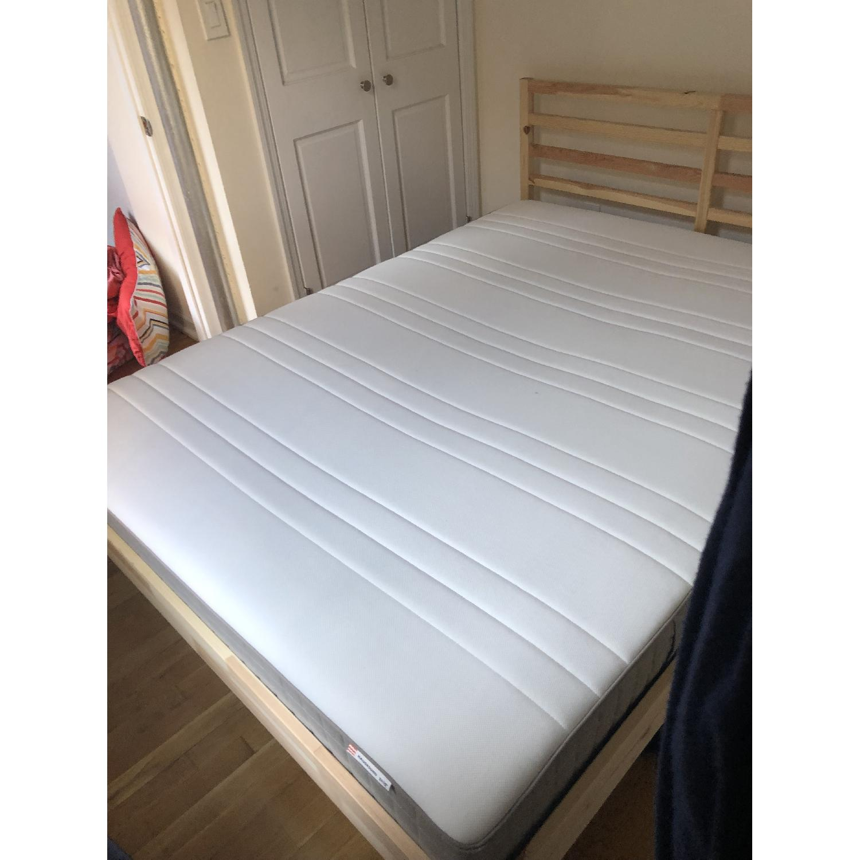Ikea Tarva Queen Size Bed - image-1