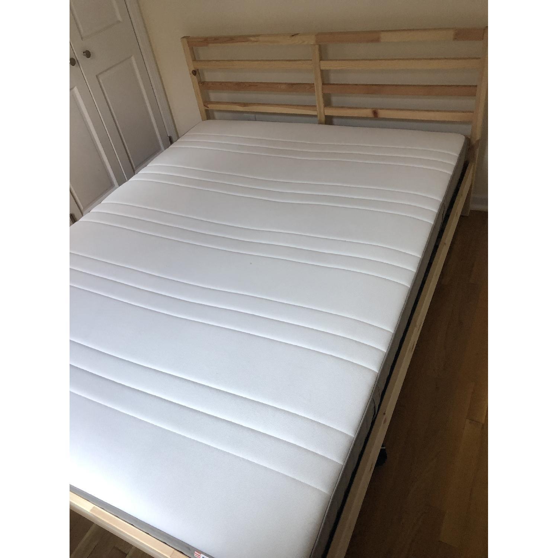 Ikea Tarva Queen Size Bed - image-2
