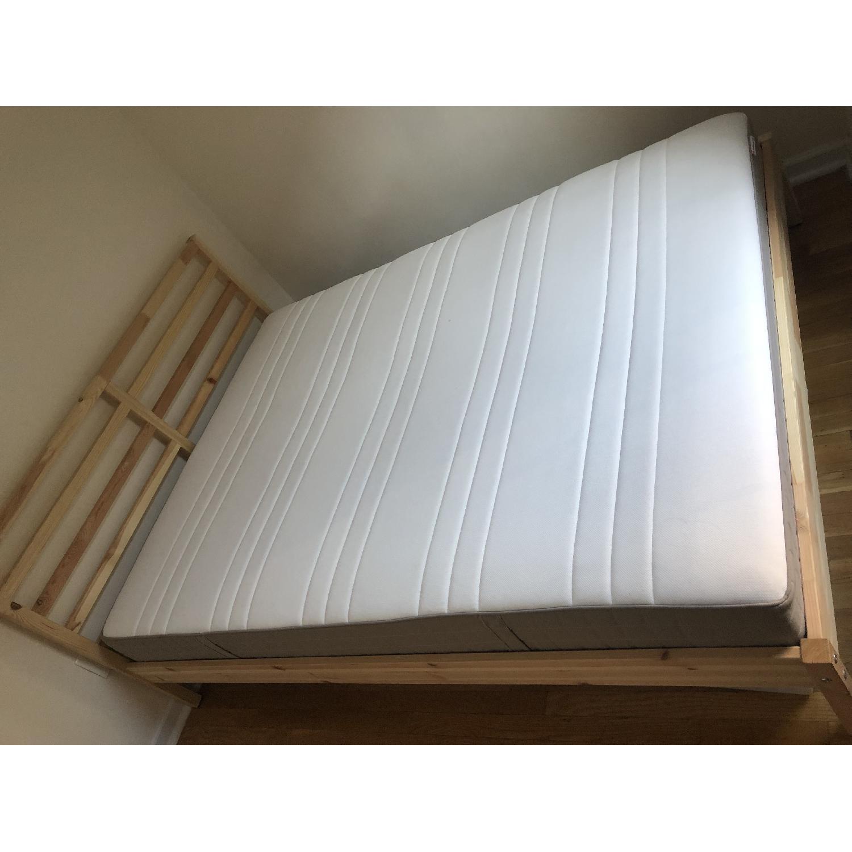Ikea Tarva Queen Size Bed - image-3