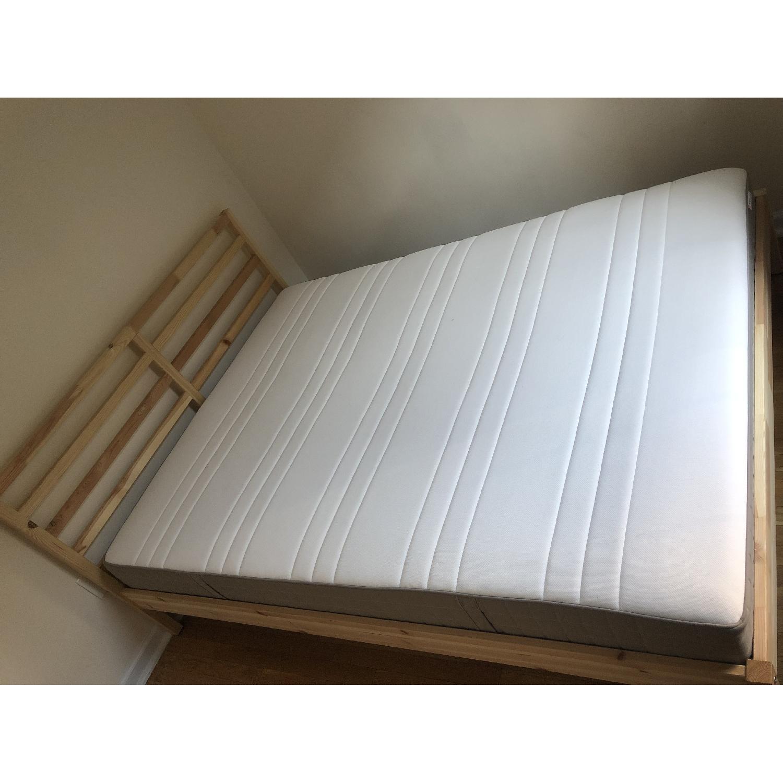 Ikea Tarva Queen Size Bed - image-4