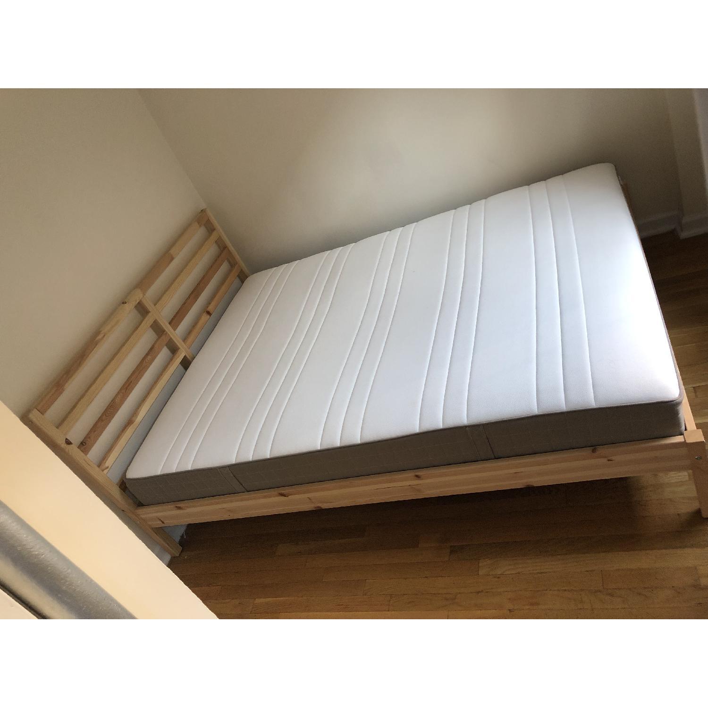Ikea Tarva Queen Size Bed - image-6