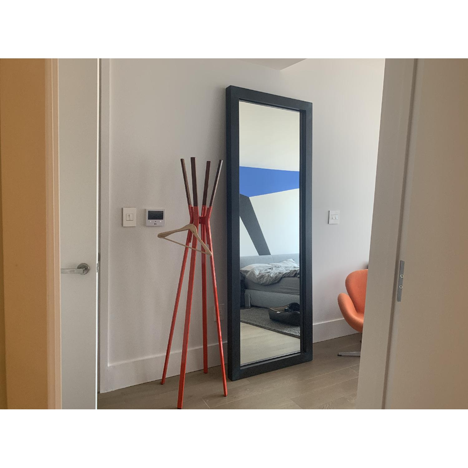 Room & Board Industry Leaning Mirror in Natural Steel - image-2