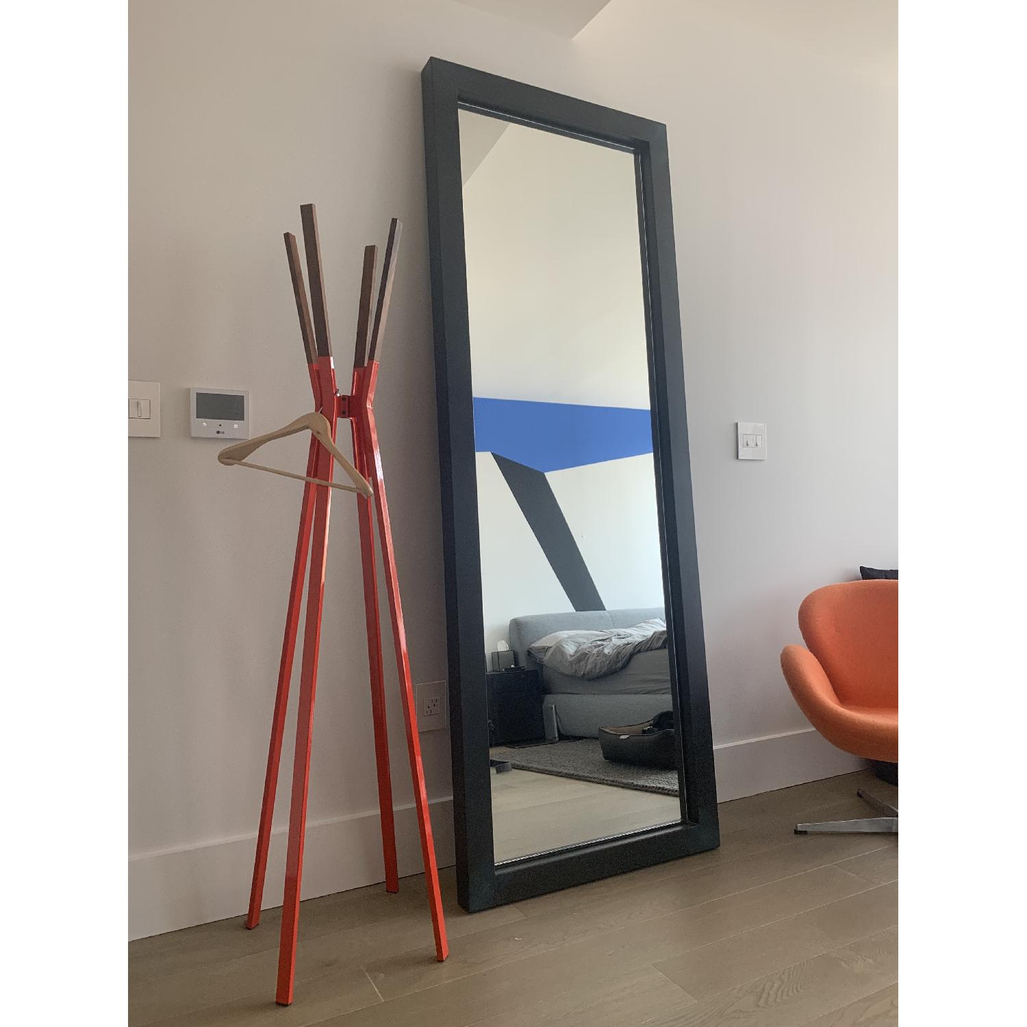Room & Board Industry Leaning Mirror in Natural Steel - image-3