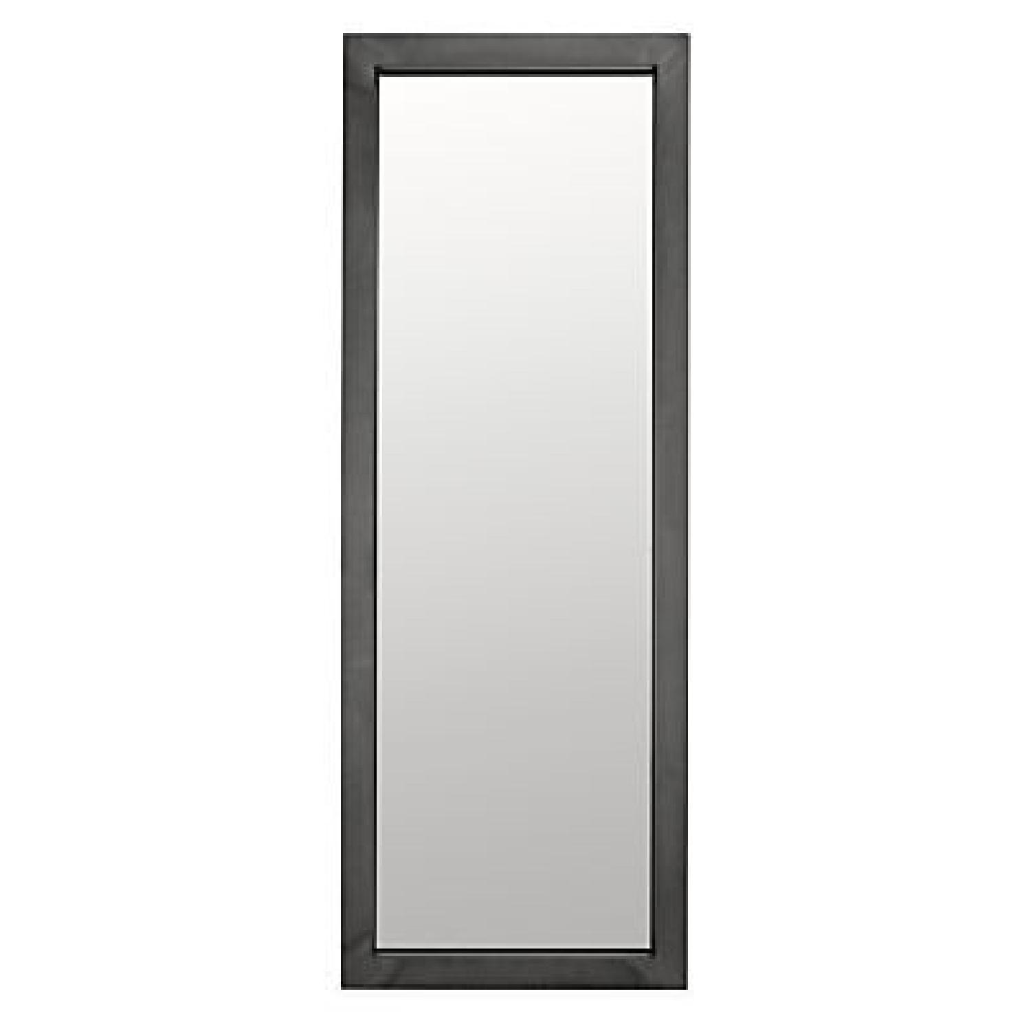 Room & Board Industry Leaning Mirror in Natural Steel - image-0