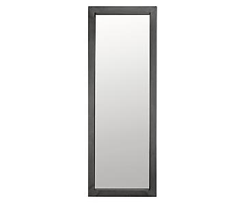 Room & Board Industry Leaning Mirror in Natural Steel
