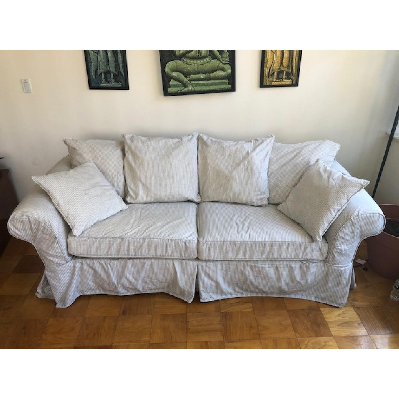 Crate & Barrel Catalina Queen Sleeper Sofa - image-1