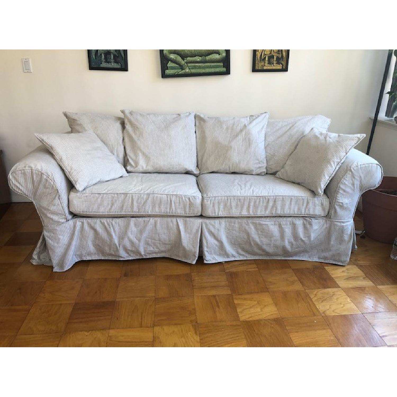 Crate & Barrel Catalina Queen Sleeper Sofa - image-8