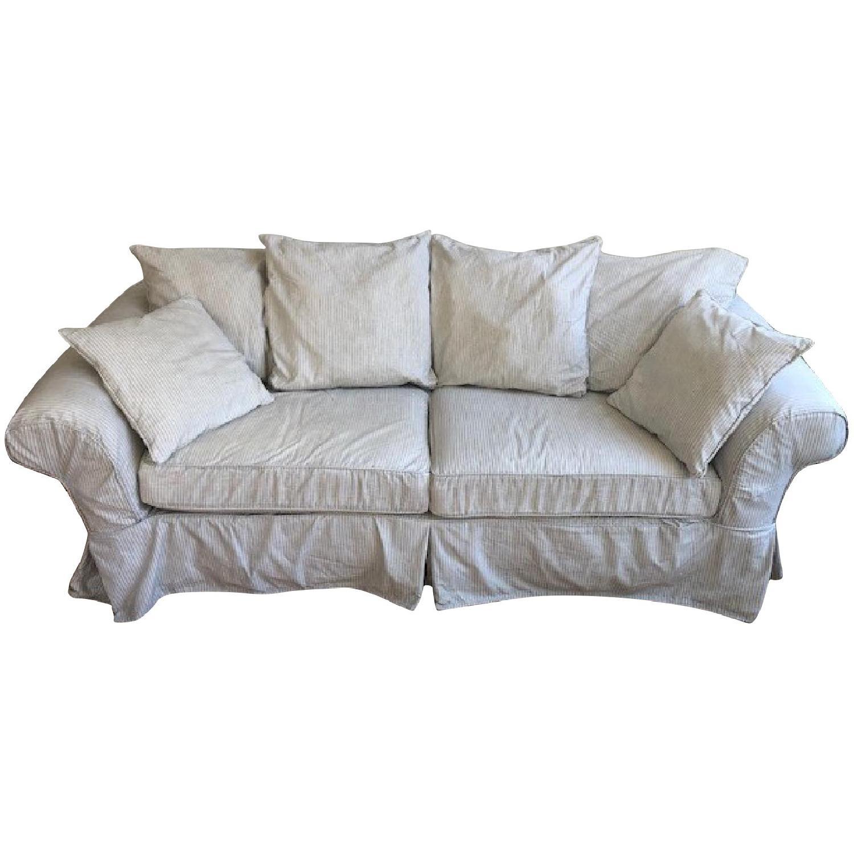 Crate & Barrel Catalina Queen Sleeper Sofa - image-0