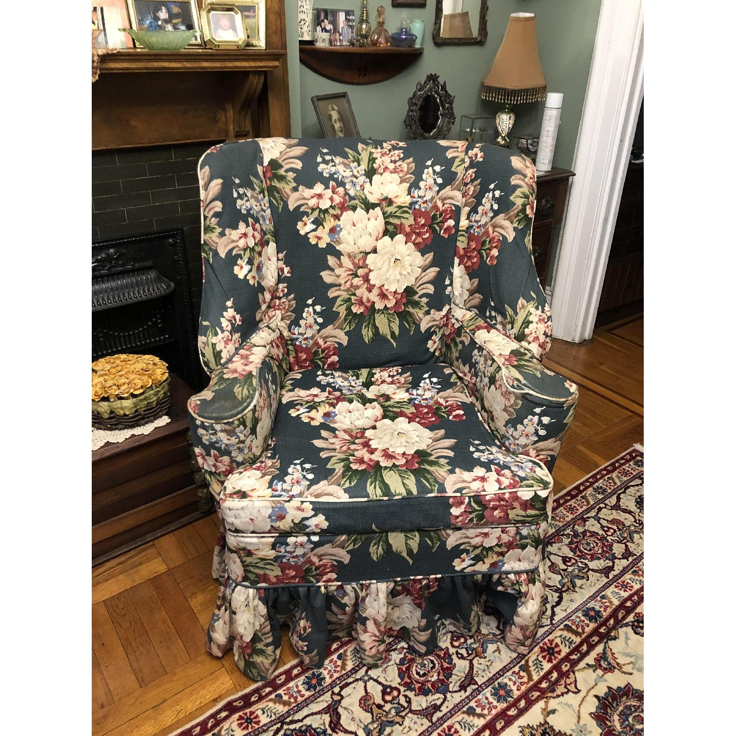 Vintage Wing Chair - image-2