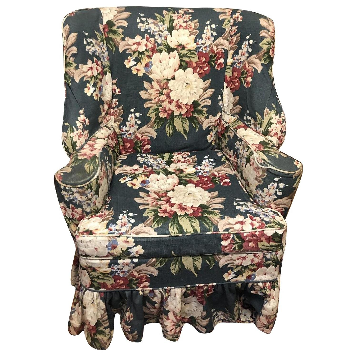 Vintage Wing Chair - image-0