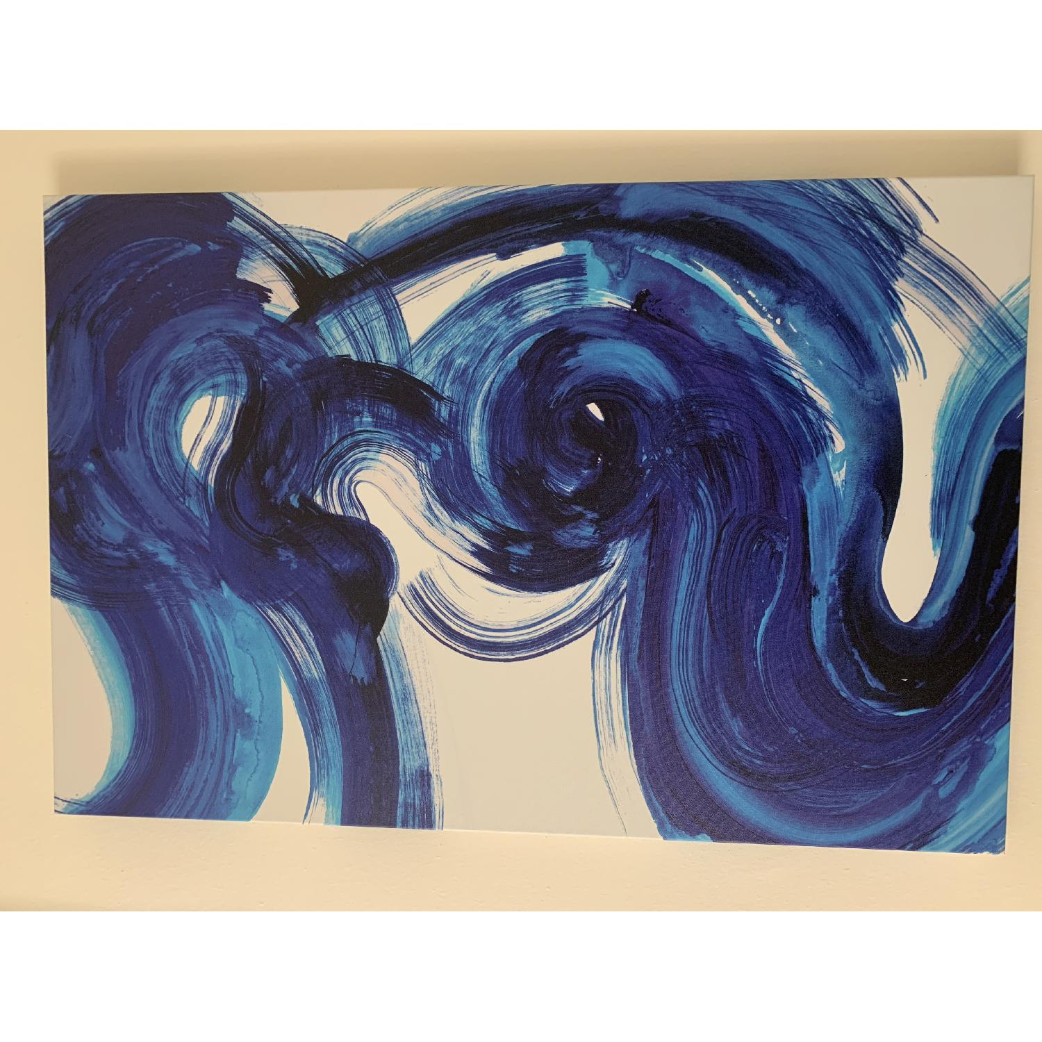 Blue Abstract Painting - image-3
