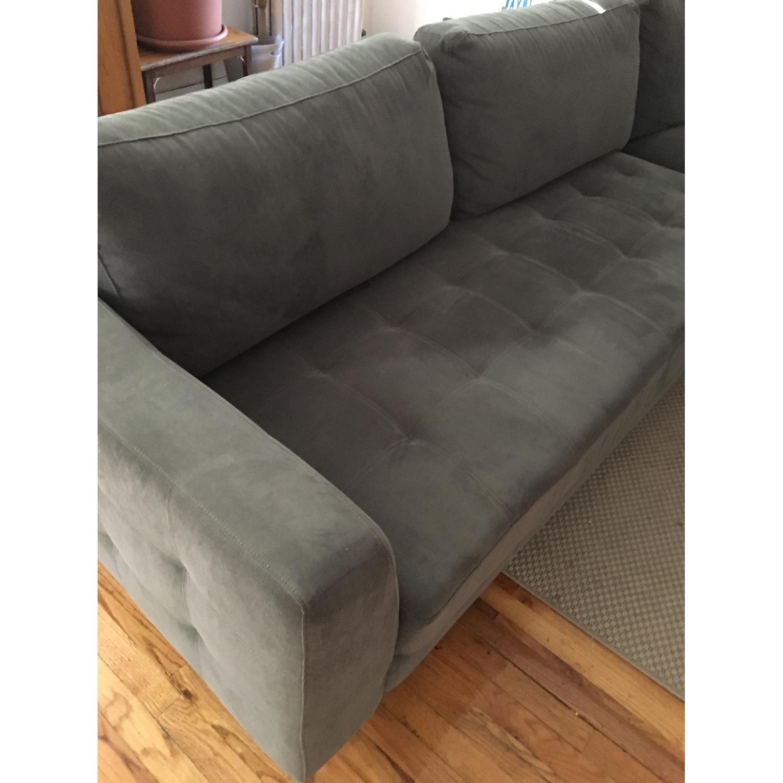 Baxton Studio Right Facing Sectional Sofa - image-1