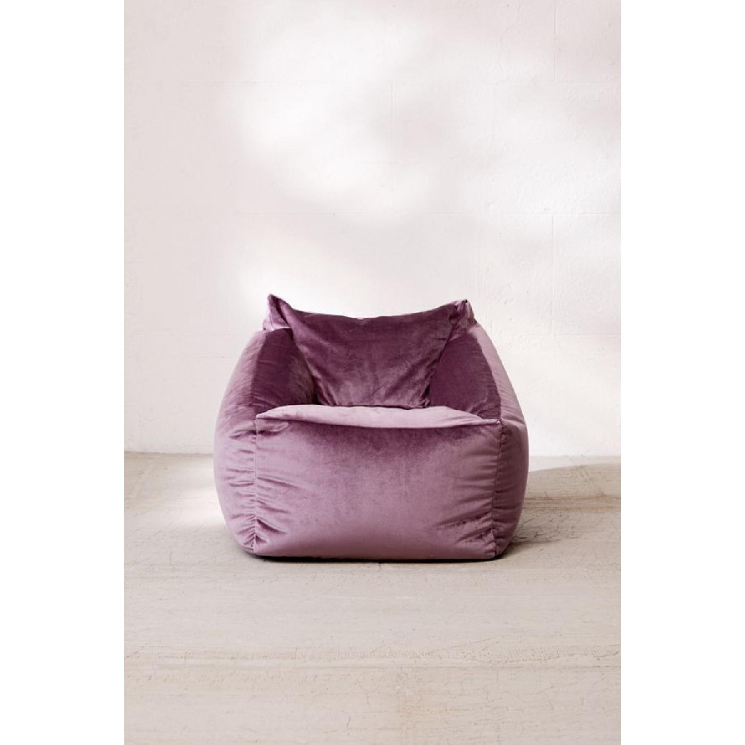 Urban Outfitters Velvet Lounge Chair - image-4