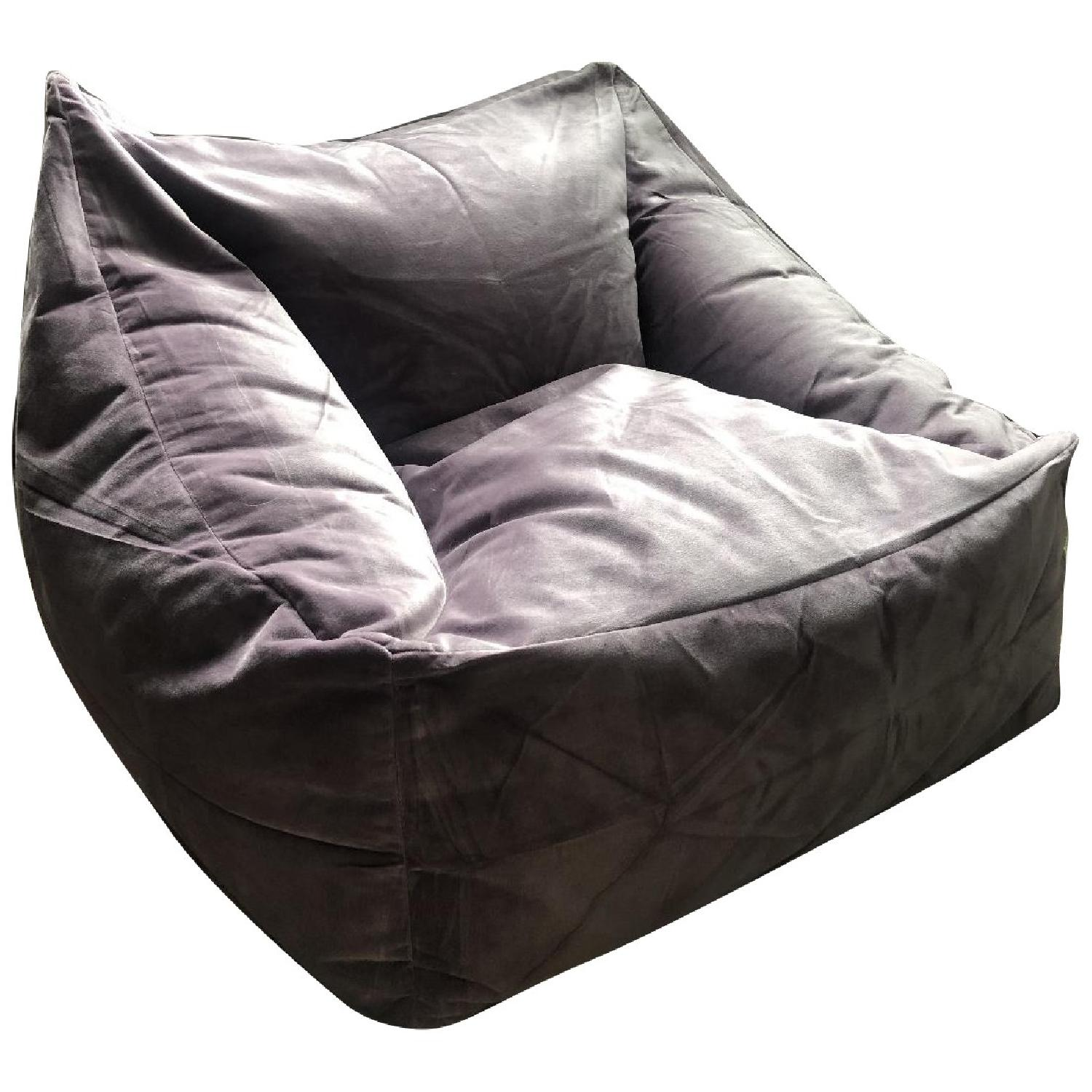 Urban Outfitters Velvet Lounge Chair - image-0